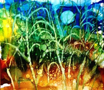 Geeta Ramani Water Color - Alien Corn