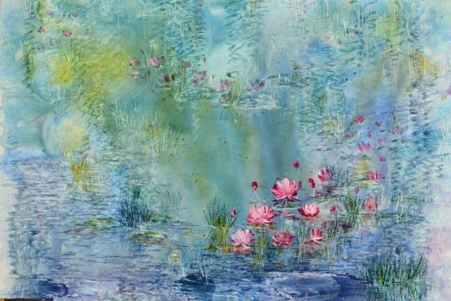 Pink LiliesSold
