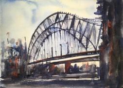 """Bridge14"""" x 10""""- Original $175"""