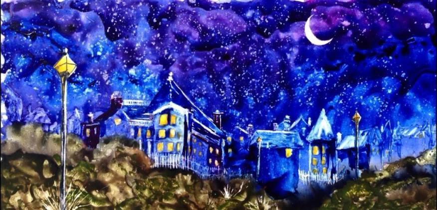 Starry Nights on Munjoy Hill