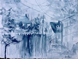 """View Out My Window14.5"""" x 11"""" - Original $150"""