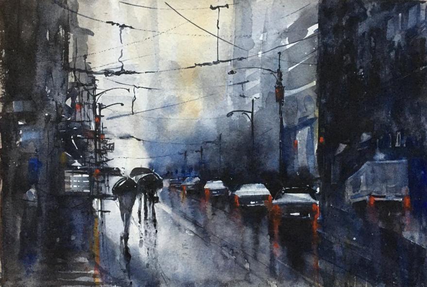 Rainy Day in NYC-After Alvaro