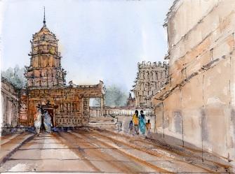 Temple Grounds - Srirangam