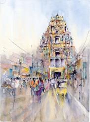 Colours of Srirangam